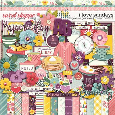 I Love Sundays by Blagovesta Gosheva & Melissa Bennett