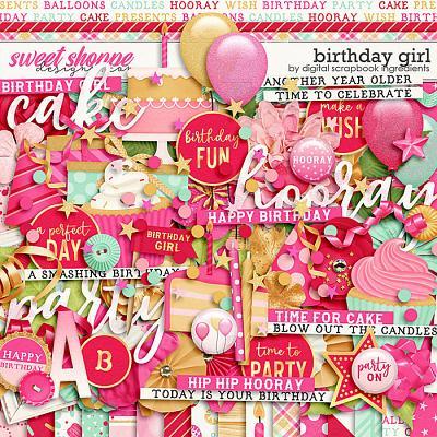 Birthday Girl by Digital Scrapbook Ingredients