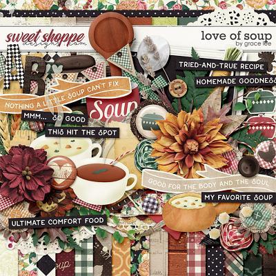 Love of Soup by Grace Lee