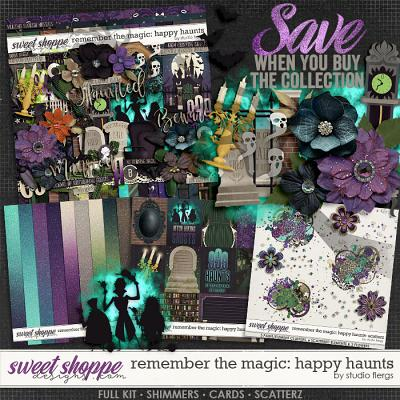 Remember the Magic: HAPPY HAUNTS- COLLECTION & *FWP* by Studio Flergs