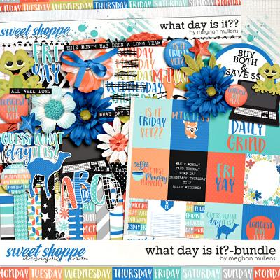 What Day Is It?-Bundle by Meghan Mullens