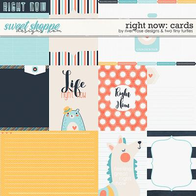 Right Now :: Cards by River~Rose Designs & Two Tiny Turtles