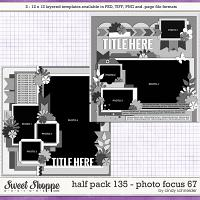 Cindy's Layered Templates - Half Pack 135: Photo Focus 67 by Cindy Schneider