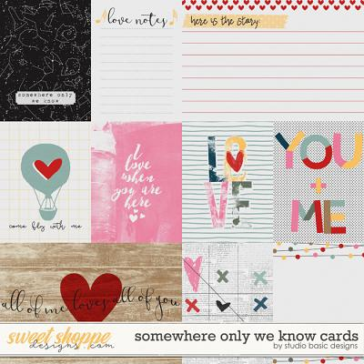 Somewhere Only We Know Cards by Studio Basic