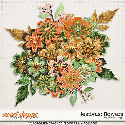 Festivus: FLOWERS by Studio Flergs