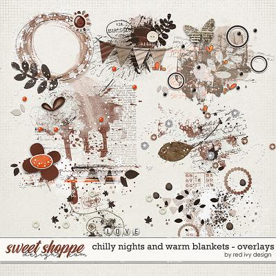Chilly Nights and Warm Blankets - Overlays by Red Ivy Design