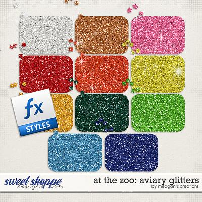 At the Zoo: Aviary Glitters by Meagan's Creations