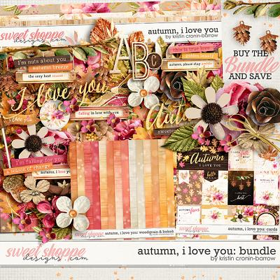 Autumn I love you: Bundle by Kristin Cronin-Barrow