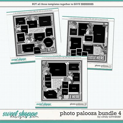 Cindy's Layered Templates - Photo Palooza Bundle 4 by Cindy Schneider