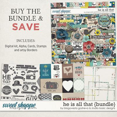 He Is All That Bundle by Blagovesta Gosheva and Studio Basic