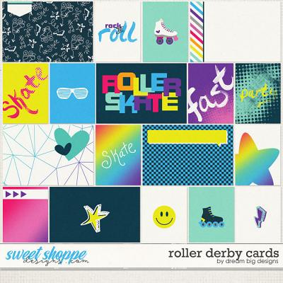 Roller Derby Cards by Dream Big Designs