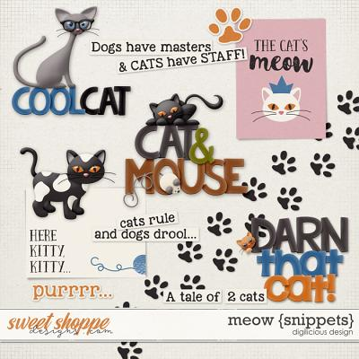 Meow {Snippets} by Digilicious Design