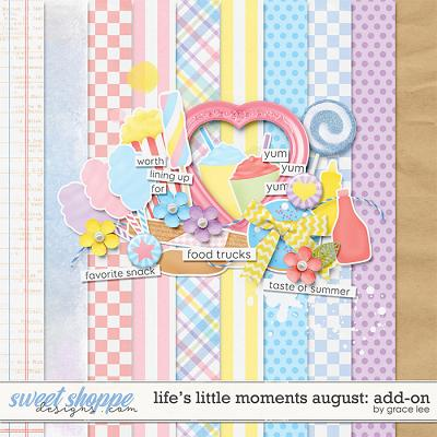 Life's Little Moments August: Add-On by Grace Lee