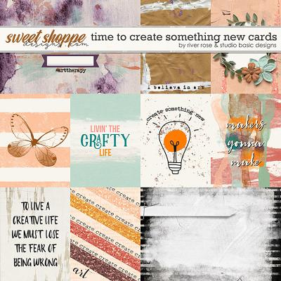 Time to Create Something New: Cards by River Rose & Studio Basic Designs