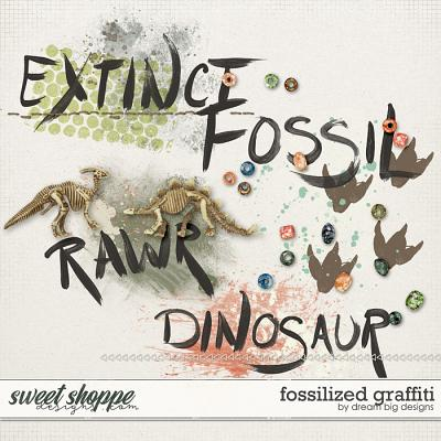 Fossilized Graffiti by Dream Big Designs