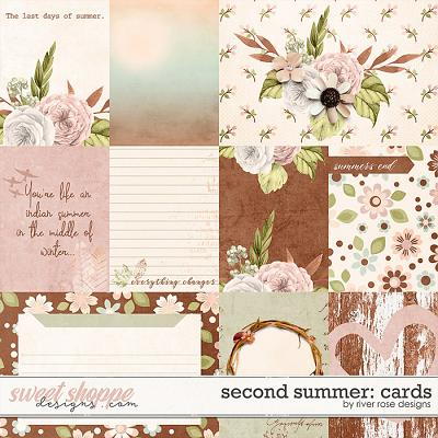 Second Summer: Cards by River Rose Designs
