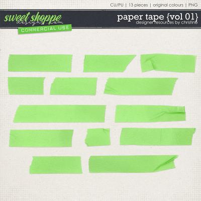 Paper Tape {Vol 01} by Christine Mortimer