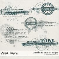 Destinations: Stamps by Blagovesta Gosheva