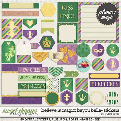 Believe In Magic Bayou Belle: Planner Magic by Amber Shaw & Studio Flergs