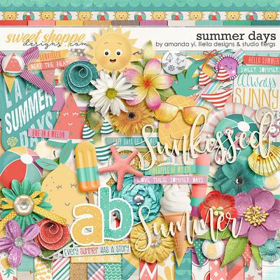 DUO 2 - Summer Days by Studio Flergs, Lliella Designs & Amanda Yi