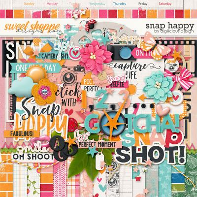 Snap Happy {Kit} by Digilicious Design