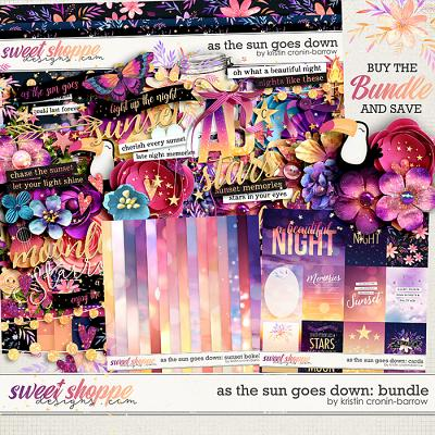 As the Sun Goes Down: Bundle by Kristin Cronin-Barrow