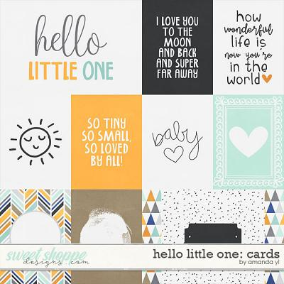 Hello Little One - Cards by Amanda Yi