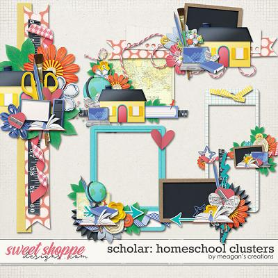 Scholar: Homeschool Clusters by Meagan's Creations