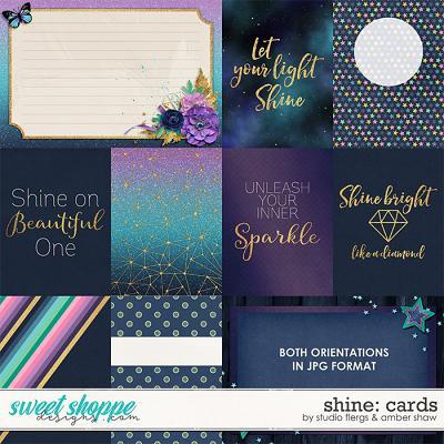 Shine: CARDS by Studio Flergs & Amber Shaw