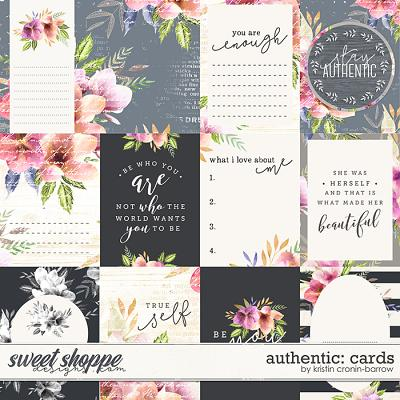 Authentic: Cards by Kristin Cronin-Barrow