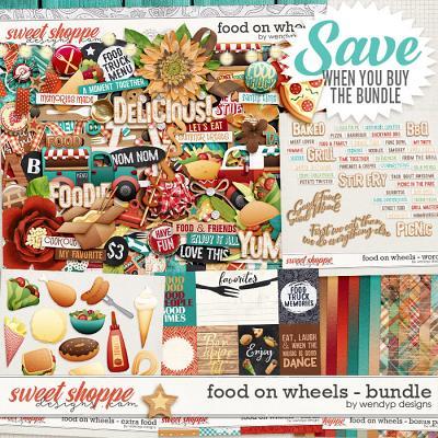 Food on wheels - bundle & *FWP* by WendyP Designs