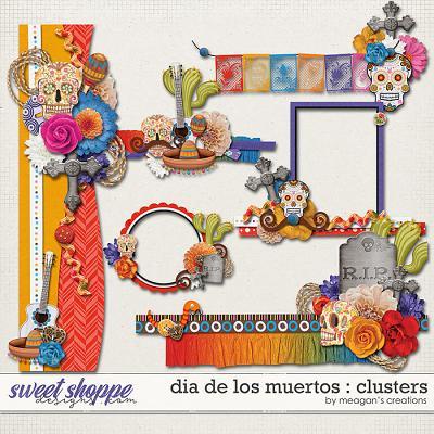 Dia De Los Muertos : Clusters by Meagan's Creations