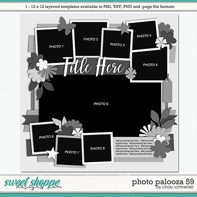 Cindy's Layered Templates - Photo Palooza 59 by Cindy Schneider
