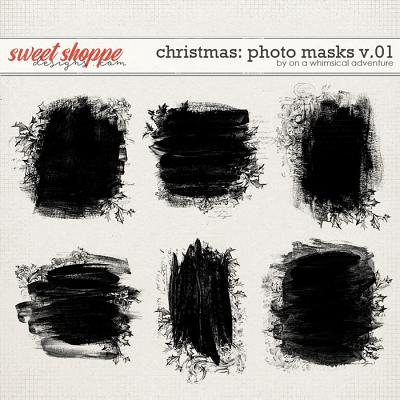 Christmas Photo Masks Vol01 by On A Whimsical Adventure