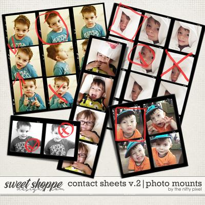 CONTACT SHEETS V.2 | PHOTO PROOFS by The Nifty Pixel