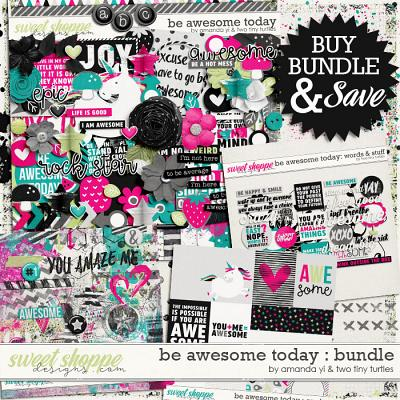Be Awesome Today: Bundle by Amanda Yi & Two Tiny Turtles