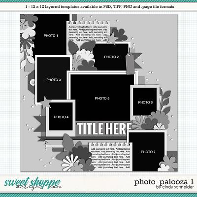 Cindy's Layered Templates - Photo Palooza 1 by Cindy Schneider