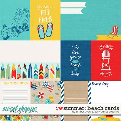 I Heart Summer: Beach Cards by Amber Shaw & Kelly Bangs