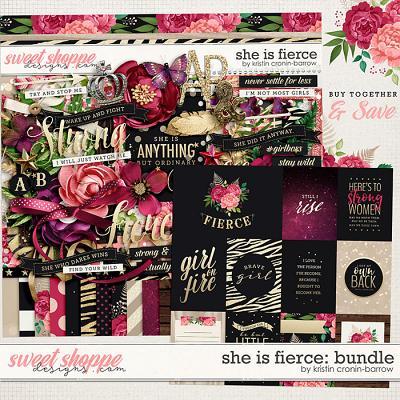 She is Fierce: Bundle by Kristin Cronin-Barrow