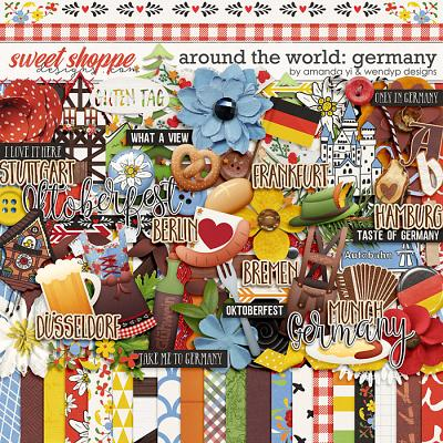 Around the world: Germany by Amanda Yi & WendyP Designs