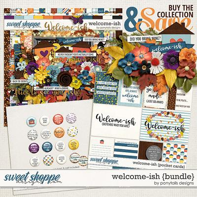 Welcome-ish Bundle by Ponytails