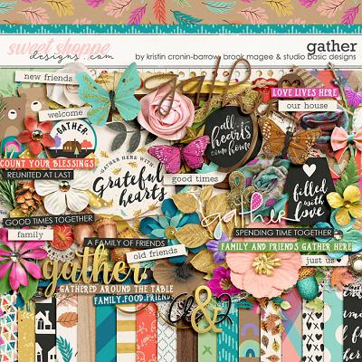 Gather Kit by Brook Magee, Kristin Cronin-Barrow & Studio Basic Designs