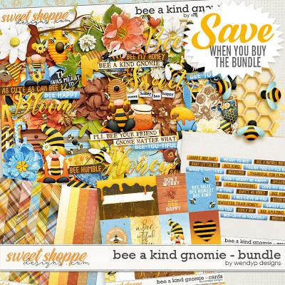 Bee a kind gnome - Bundle by WendyP Designs