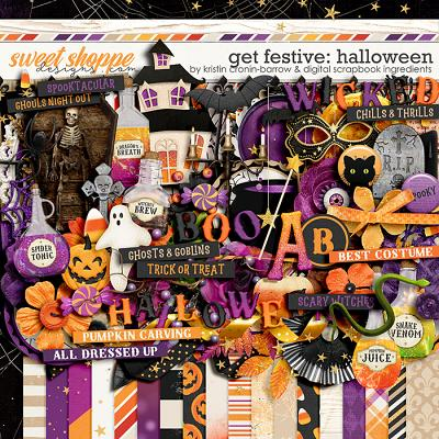 Get Festive: Halloween by Kristin Cronin-Barrow & Digital Scrapbook Ingredients