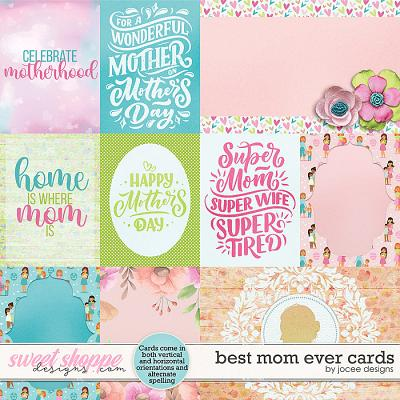 Best Mom Ever Cards by JoCee Designs