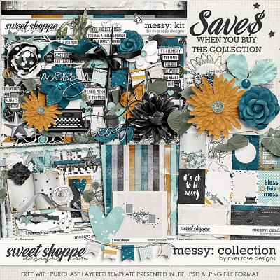 Messy: Collection + FWP by River Rose Designs