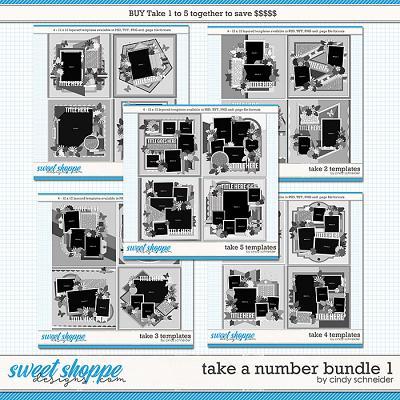 Take a Number Bundle 1 by Cindy Schneider