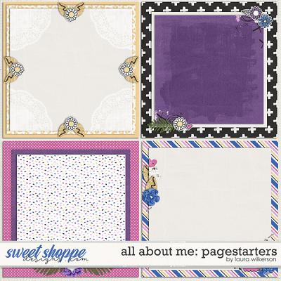 All About Me: Pagestarters by Laura Wilkerson