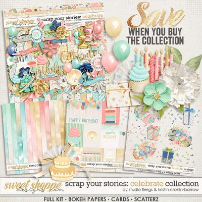 Scrap Your Stories: CELEBRATE- Collection by Studio Flergs & Kristin Cronin-Barrow