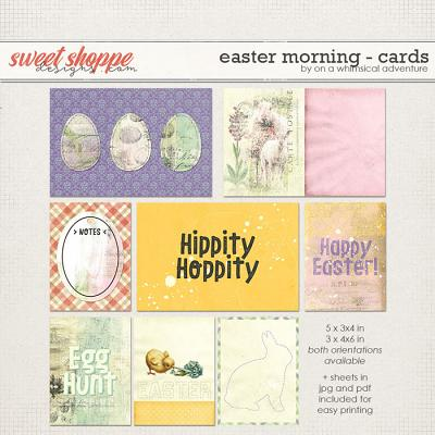 Easter Morning Journal Cards by On A Whimsical Adventure